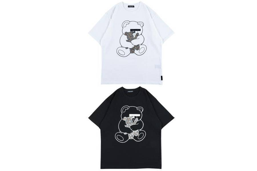 MEDICOM TOY BE@RTEE collaboration collection UNDERCOVER black white colourway