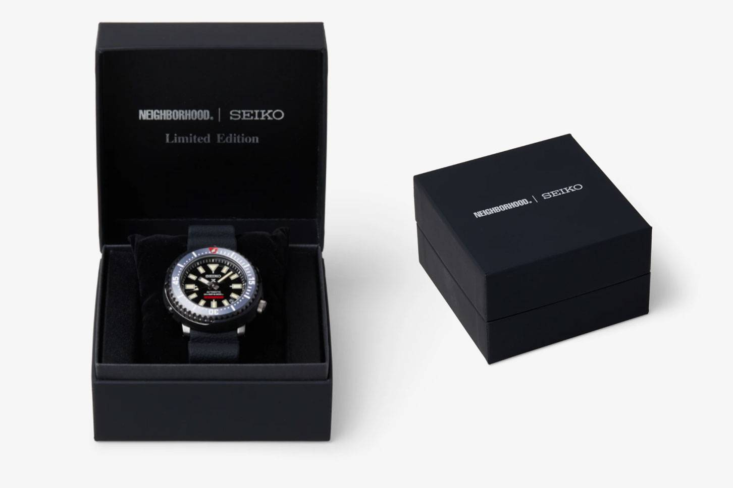 NEIGHBORHOOD and SEIKO Prospex Diver Scuba limited edition watch is coming soon