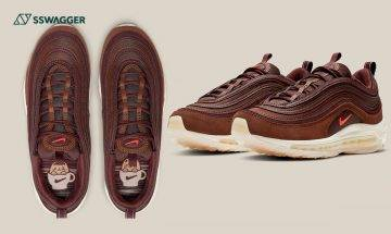 Nike Air Max 97 Coffee熱燙登場!低調深色系鞋迷要有