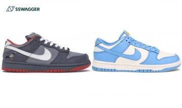 Nike Dunk及SB Dunk低筒版5大分辨重點!2款Dunk最後19小時抽籤