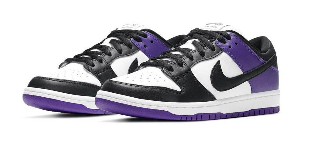 Nike SB Dunk Low Court Purple抽籤 purple black colourway