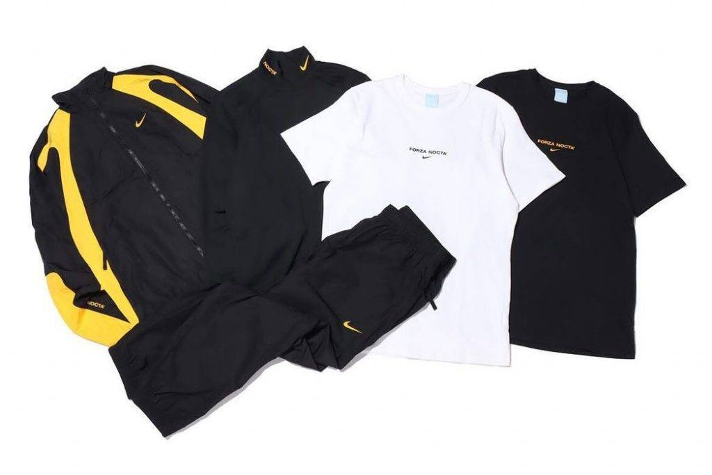 Nike x Drake Nocta Collection Second drop black and yellow colourway