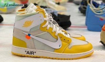 Off-White x Nike Air Jordan 1 Canary Yellow上架在即?官方曝光6款發售鞋款
