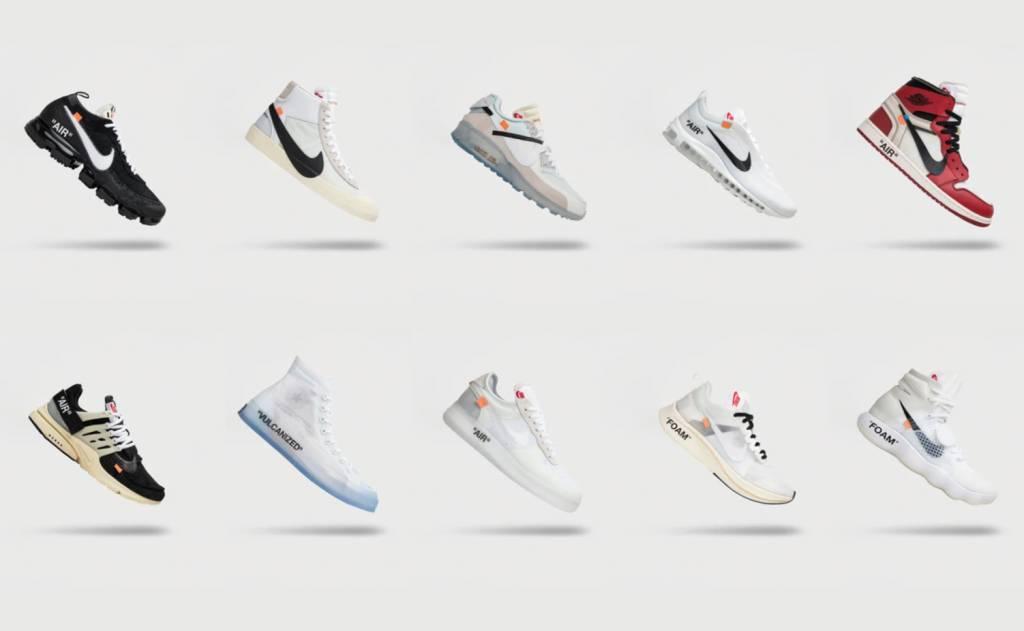 """2017 Off-White x Nike """"The Ten"""""""