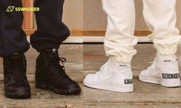 UNDERCOVER x Nike Dunk High首曝光!熱搶款加入潑墨點綴