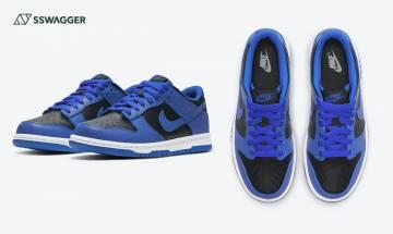 Nike Dunk Low Hyper Cobalt預告登場!低筒版AJ1 Royal