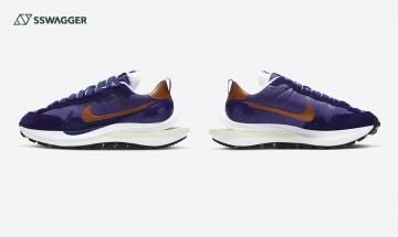 sacai x Nike Vaporwaffle Dark Iris官方圖終登場!今年第1款上架是它?
