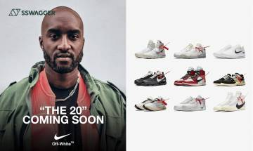 Off-White x Nike The 20系列預告到着!17年The Ten續集上映