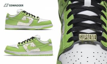 Supreme x Nike SB Dunk Low Mean Green綠魔出現!四大天王逐個出山