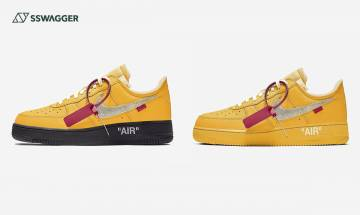 Off-White x Nike Air Force 1 University Gold預告!入手大挑戰