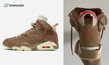 Travis Scott x Air Jordan 6 British Khaki諜照流出!又一大魔王誕生