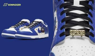Supreme x Nike SB Dunk Low Hyper Blue藍神登場!18年前寫下的永恆經典