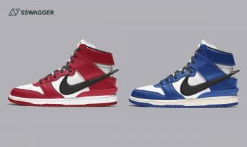 Nike Dunk Hi x AMBUSH雙色突襲?最強Chicago、Royal配色
