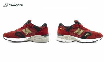 New Balance 920 CNY現正開賣!新年總要有一對紅鞋吧!