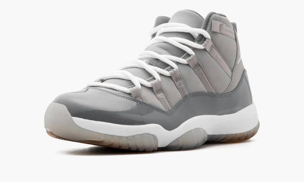 "Air Jordan 11 ""Cool Grey"" 2021 grey colourway"