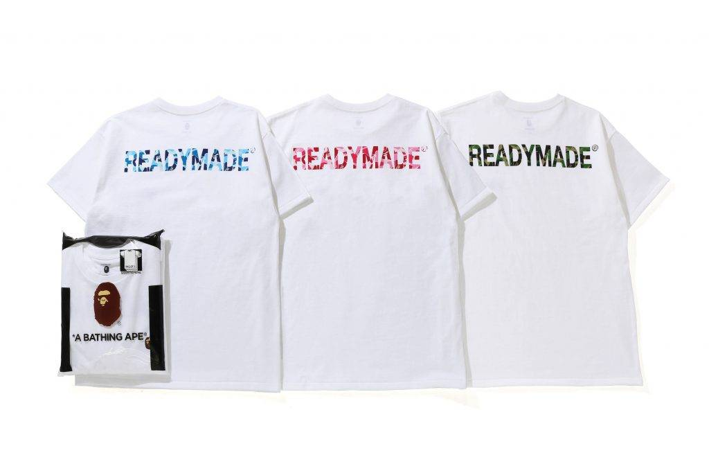 READYMADE x BAPE 2021 Spring Summer collection T-shirt