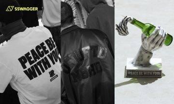NEIGHBORHOOD x UNDEFEATED 攜手以和平為題!線香座設計大膽惹注目