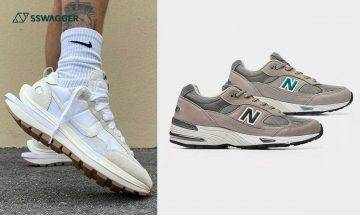 New Balance 991灰巴、sacai x Nike Vaporwaffle新色曝光等!SSneakers Weekly本星期7雙定必注意之球鞋