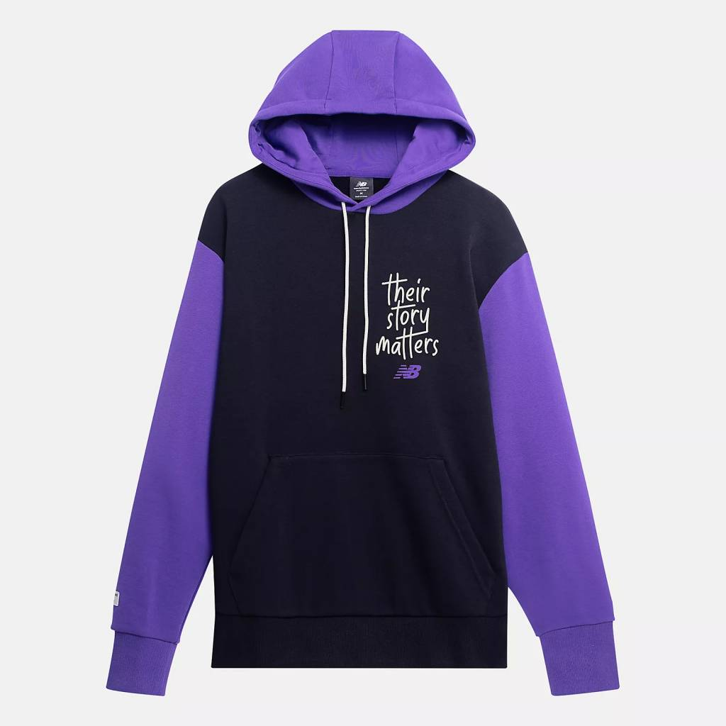 New Balance My Story Matters BHM capsule collection 990v5 hoodie t shirt
