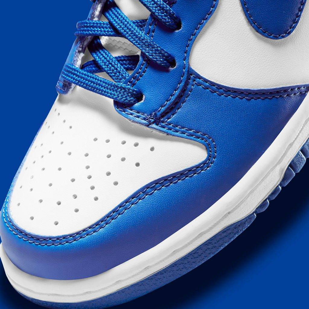 Nike Dunk HighGame Royal blue and white colourway