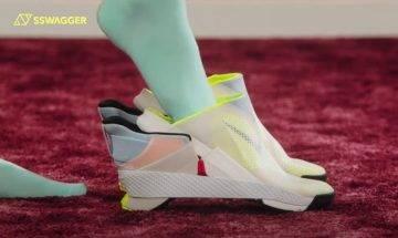 Nike GO FlyEase 新設計讓鞋底摺起?穿鞋從此不需要動手了
