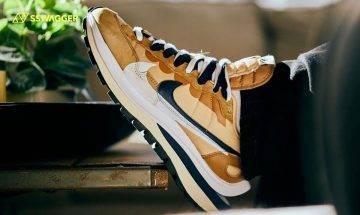 sacai x Nike Vaporwaffle啡藍 新色多圖近賞!各鞋迷準備好了嗎?