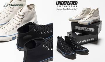 UNDEFEATED x Converse延續Fundamentals系列推出簡約雙色基本款!