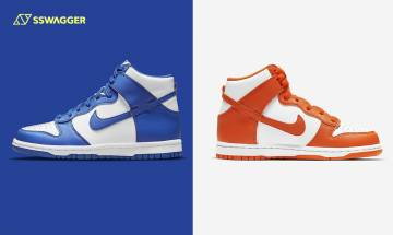 Nike Dunk High Game Royal、Syracuse登場預告!高筒版本更熱賣?