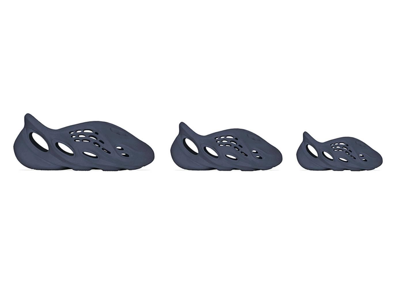 adidas YZY Foam Runner「Mineral Blue」快將上架!成人至小童尺寸全方位開催