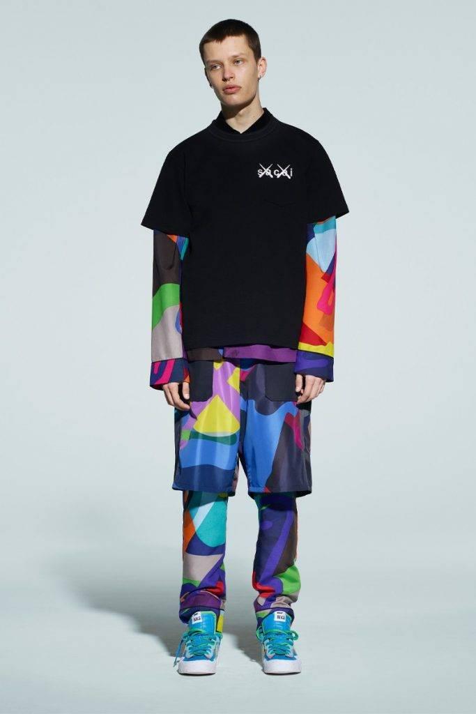 sacai x KAWS Men's 2021 Autumn & Winter collection