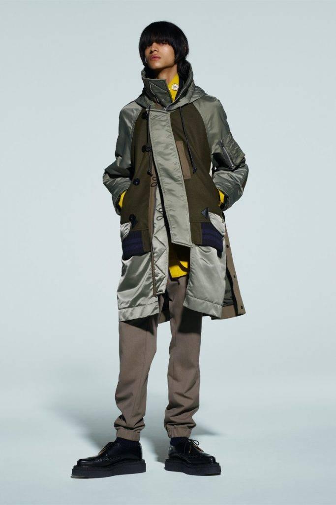 sacai Men's 2021 Autumn & Winter & Women's 2021 Pre Autumn collection