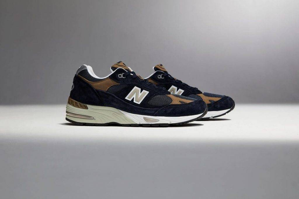 New Balance 991 Navy Tan 20th anniversary version to be release on April 2nd