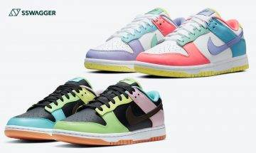 Nike Dunk Low Free 99黑色接受抽籤!Dunk Low Easter同步開抽