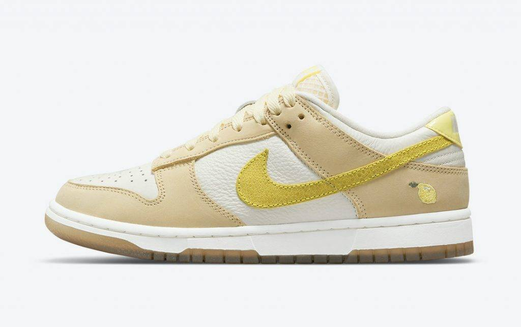 Nike Dunk Low「Lemon Drop」yellow sail Zitron colourway to be released on April 24th