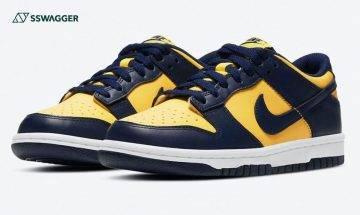 Nike Dunk Low Michigan 上架日期曝光!經典元祖色系即將來襲