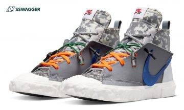 READYMADE x Nike Blazer Mid 藍剔版開抽!鬼罕球鞋入手難度奇高