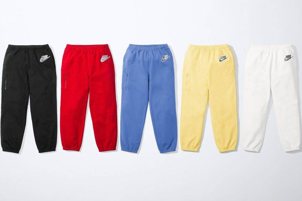 Supreme x Nike Spring and Summer 2021 Apparel collection