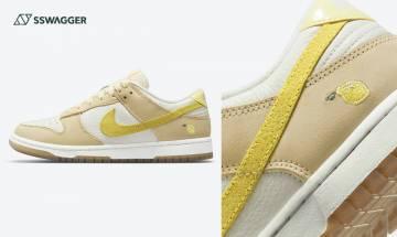 Nike Dunk Low Lemon Drop發售確定!女生專屬的小清新鞋王