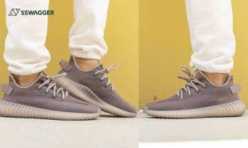 adidas YEEZY 350 v2 Mono Mist上腳圖曝光!創新半透明網紗材質