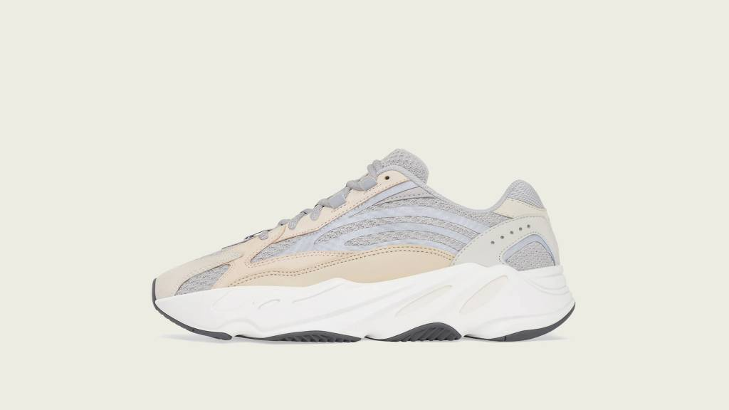 """adidas Yeezy Boost 700 v2 """"Cream"""" white and beige colourway to be released on 13th March"""