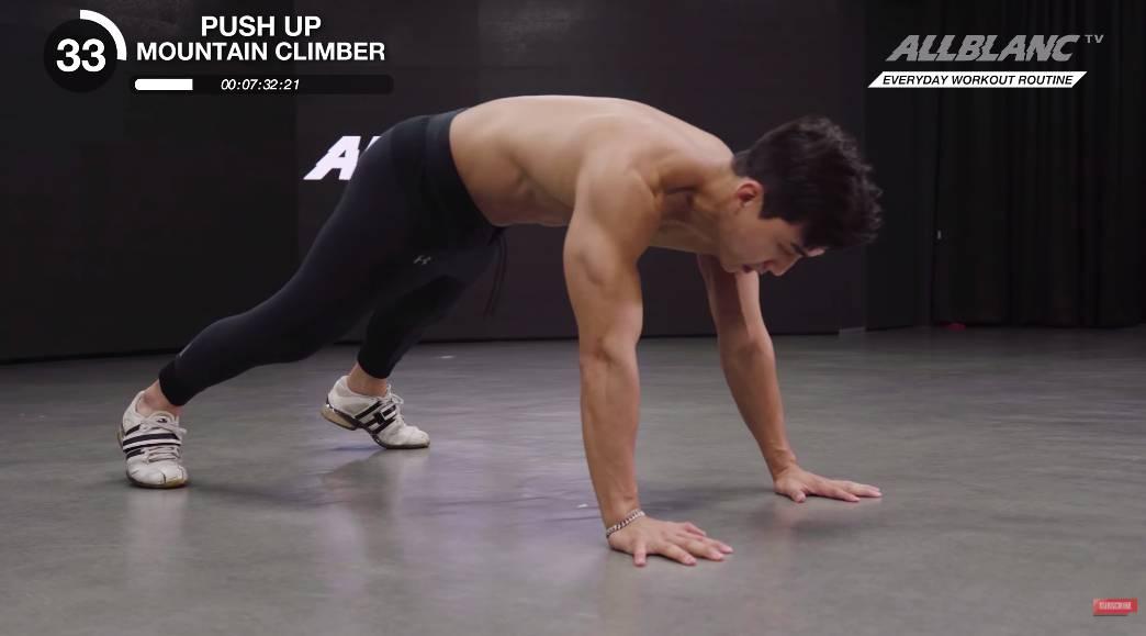 全身減脂 只需每日10分鐘!韓國健身教練 YouTuber Louis Oh 示範10個徒手動作