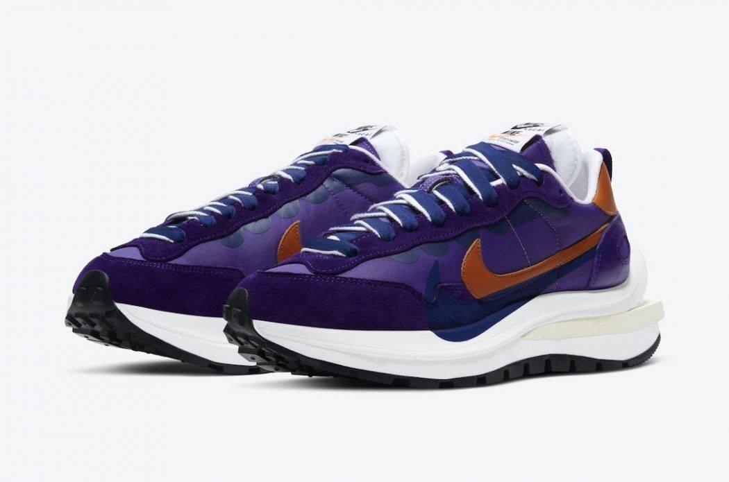 超人氣波鞋 本月傾巢而出!sacai x Nike Vaporwaffle 2021新色「Dark Iris」、「Navy Blue/Brown/White」