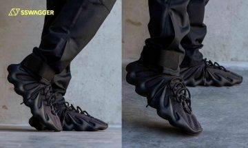 adidas YEEZY 450 Dark Slate多角度上腳圖曝光!前衛設計能否吸引鞋迷?