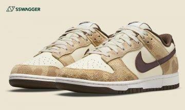 Nike Dunk Low PRM Animal Pack首曝光!長頸鹿紋理令球鞋更吸睛