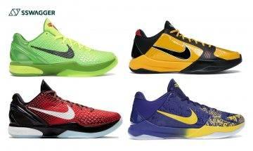 Nike Kobe因不續約成絕響?盤點10雙StockX銷售量最多Kobe鞋款