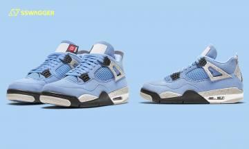 Air Jordan 4 Retro UNC抽籤渠道釋出!北卡藍致敬籃球之神