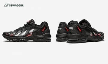 Supreme x Nike Air Max 96近照曝光!5年後以透視元素強勢回歸