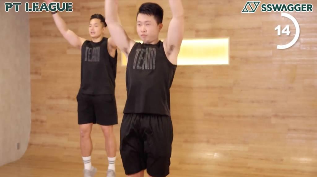 全身增肌消脂HIIT full body HIIT Exercise within 3 mins
