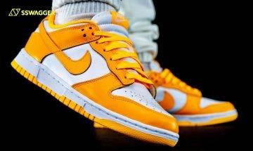 Nike Dunk Low Laser Orange上腳近賞!夏日鮮豔色系奪目現身