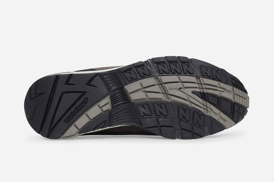 New Balance 991 x Slam Jam black and grey colourway